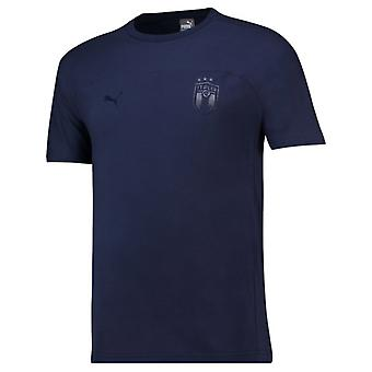 2018-2019 Italy Puma Azzurri Tee (Peacot)