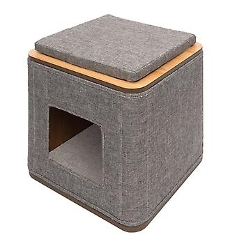 Vesper Cubo Tower Gris (Cats , Bedding , Igloos)