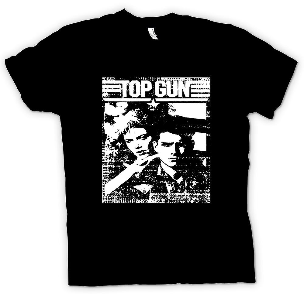 Kvinner t-skjorte-Top Gun Maverick - Pop Art - film