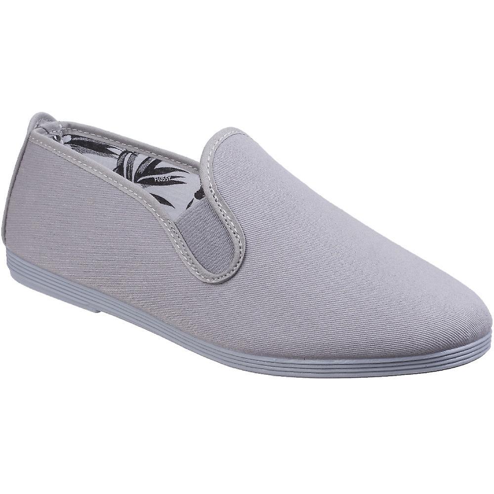 Seidig Damen/Damen Guadix Canvas Baumwolle lässig Sommer Pumps Schuhe