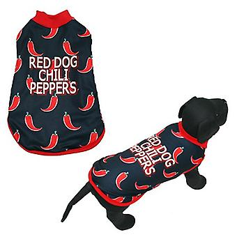 MI&DOG Abrigo Capa Felpado Red Dog T-35 (Dogs , Dog Clothes , Coats and capes)