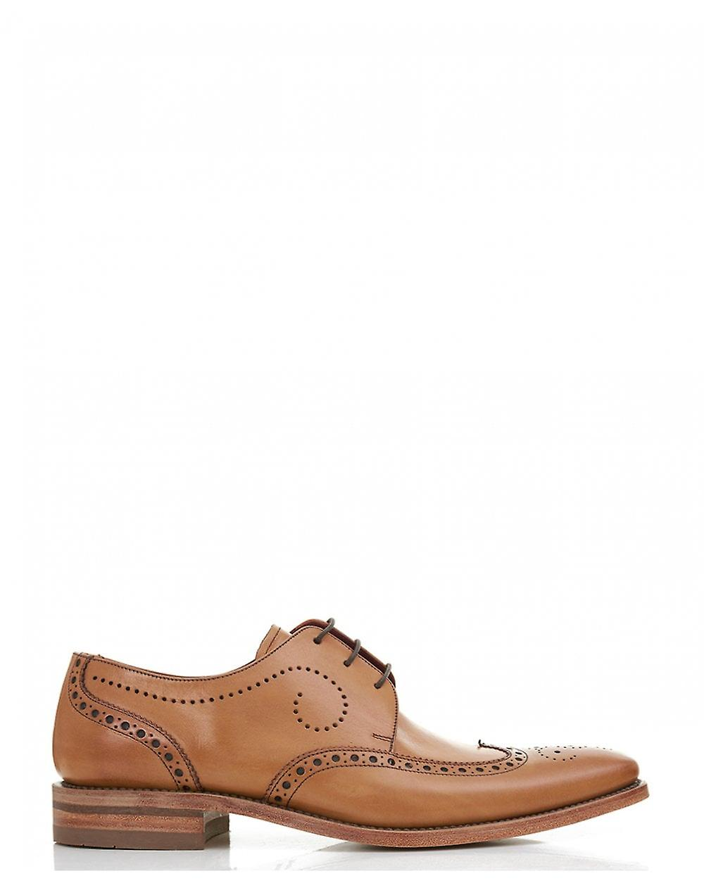Loake Punch Detail Leather Shoes
