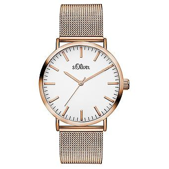 s.Oliver women's watch wristwatch stainless steel SO-3146-MQ