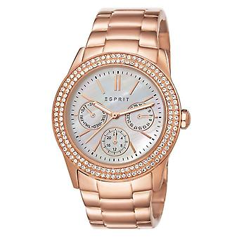 ESPRIT ladies watch wristwatch Peony stainless steel Rosé ES103822014
