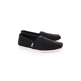 Toms Perforated Synthetic Suede Alpargata
