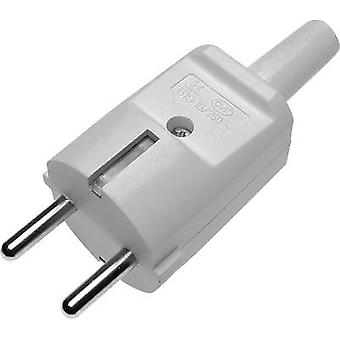 GAO 627623 Safety plug PVC 230 V Grey IP20