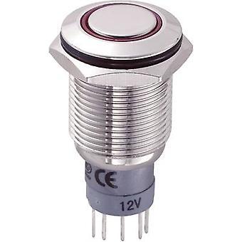 COMPONENTES: TRU LAS2GQF-11ZE/R/12V/N/P inalterable pulsador 250 V AC 3 1 On/On IP67 cierre 1 PC