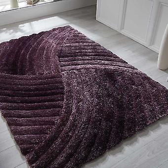 Alfombras punto surco púrpura rectángulo alfombras llano casi llanos