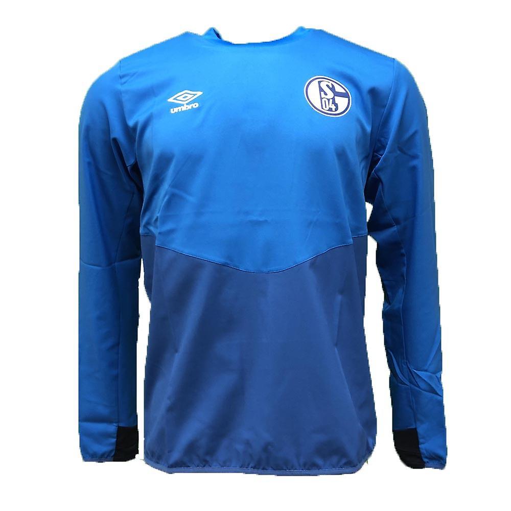 2018-2019 Schalke Umbro perceuse Top (bleu)