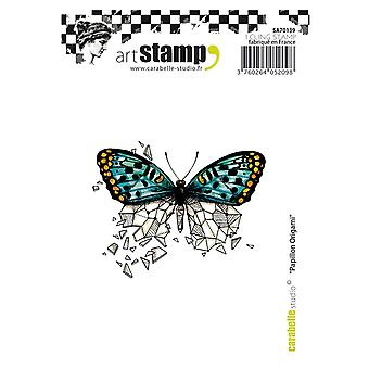 Carabelle Studio Cling stempel A7-Butterfly Origami