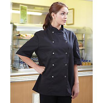 Dennys Economy Short Sleeve Chef's Jacket - DD08CS