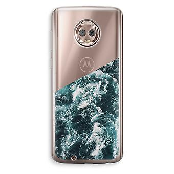 Motorola Moto G6 Transparent Case (Soft) - Ocean Wave