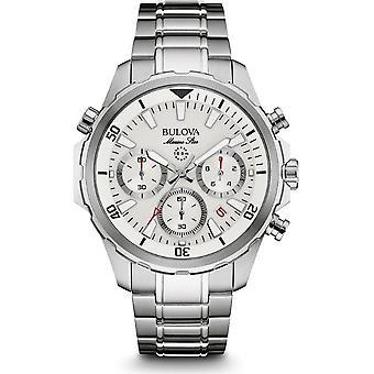 Bulova mens watch marine star chronograph 96 B 255