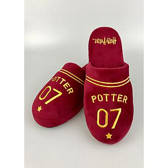 Official Harry Potter Quidditch Mens Slippers