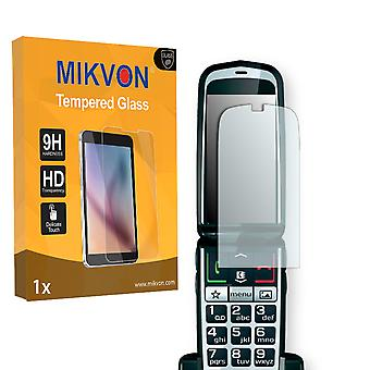 Emporia GLAM Screen Protector - Mikvon flexible Tempered Glass 9H (Retail Package with accessories)