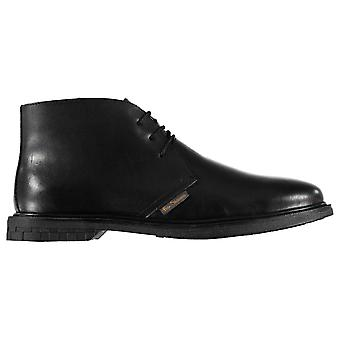 Ben Sherman Mens Train Desert Boots Shoes Comfortable Fit Lace Up Leather