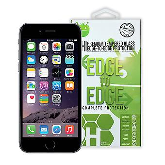 Black Premium Tempered Glass For iPhone 6+/6S+