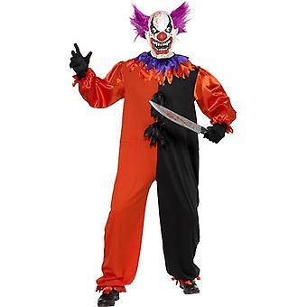 Cirque Sinister beängstigend Bo Bo das Clownskostüm, Brust 46