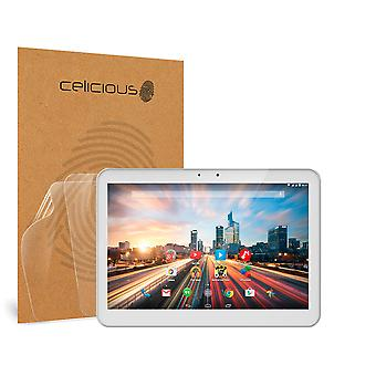 Celicious Vivid Invisible Glossy HD Screen Protector Film Compatible with Archos 101 Helium [Pack of 2]