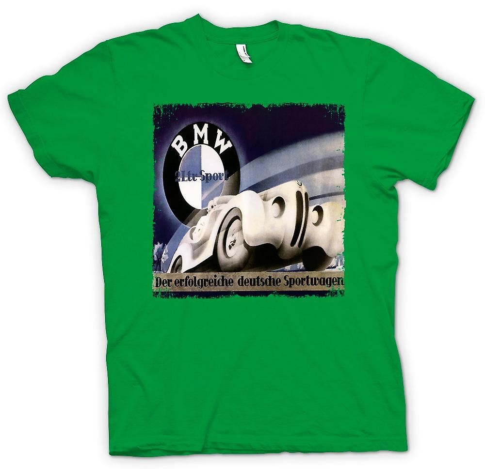 Mens T-shirt - Doppeldeckzuge German Train