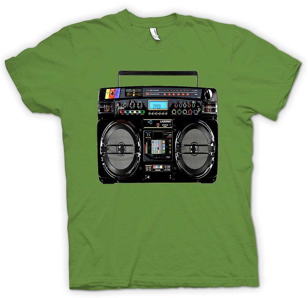 Herren T-Shirt - iPod - Ghetto Ghettoblaster