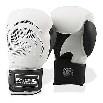 Bytomic Legacy Leather Boxing Gloves White/Black