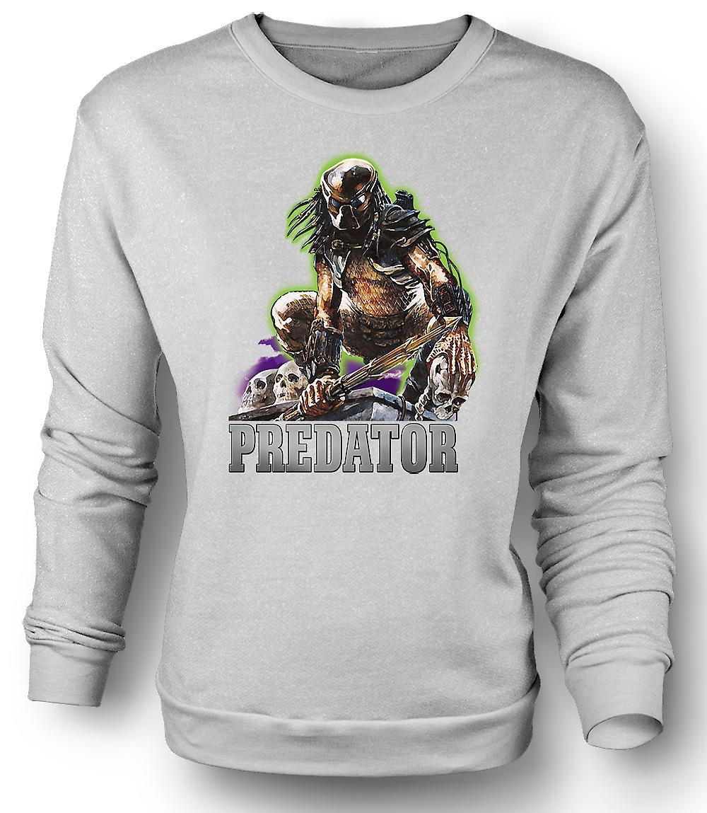 Mens Sweatshirt Predator Hunter - Classic Movie