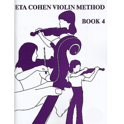 ETA Cohen's Violin Method Bk 4