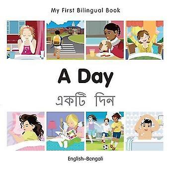 Min första tvåspråkiga bok - en dag - Bengali-engelska