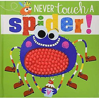 Never Touch A Spider! (Never Touch Series) [Board book]