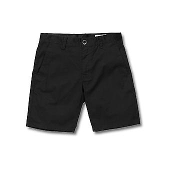Volcom mannen Stretch broek ~ Frickin moderne Stretch 19 zwart