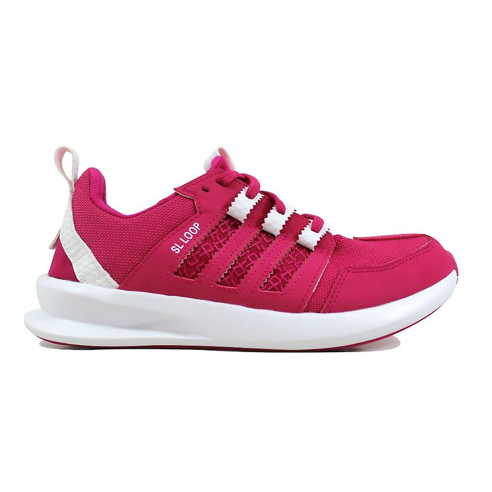 Adidas SL Loop courirner J rose blanc  Grade-School S85624 Taille 6 Medium