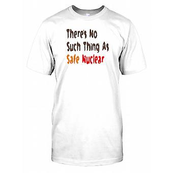 Threes No Such Thing as Safe nucléaire T Shirt