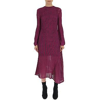 Chloé Purple Silk Dress