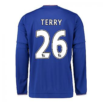 2015-2016 Chelsea Home Long Sleeve Shirt (Terry 26)