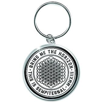 Bring Me The Horizon Keyring Keychain This is Sempiternal new Official metal