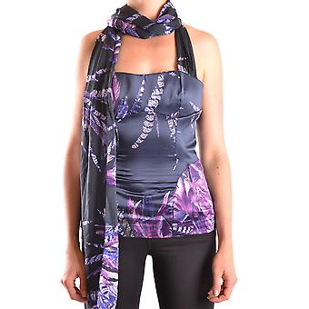 Just Cavalli Purple Polyester Top