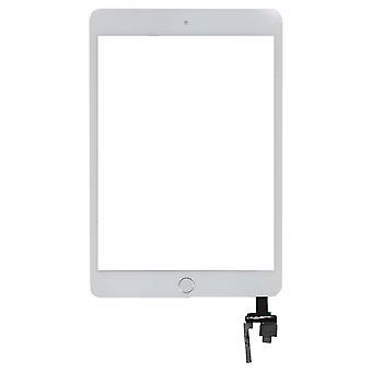 Dla iPada Mini 3 - Digitizer - biały - z Strona główna przycisk