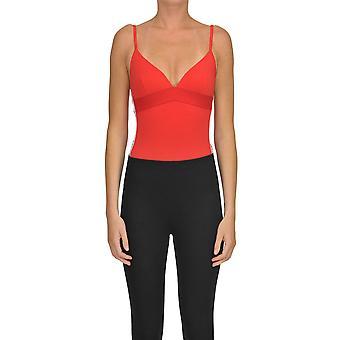 Paco Rabanne Red Modal Bodysuit