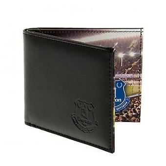 Everton Embossed Leather Wallet Panoramic 801