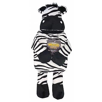 Jungle Friends Novelty 1L Hot Water Bottle: Zebra