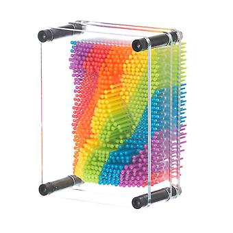 Rainbow Pin Art Desktop Gadget