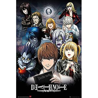 Death Note Collage Maxi affisch 61x91.5cm