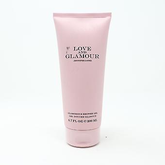 Love And Glamour 'Jennifer Lopez' Glamorous Shower Gel 6.7oz/200ml New