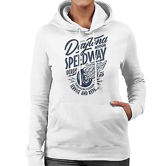 Divide & Conquer Daytona Speedway Derby Women's Hooded Sweatshirt