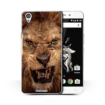 STUFF4 Case/Cover for OnePlus X/Lion/Wildlife Animals