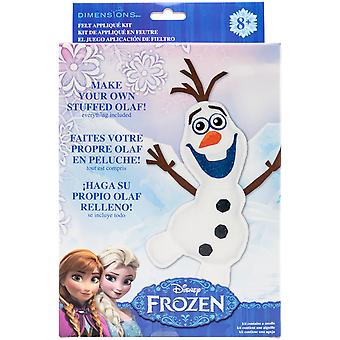 Olaf Frozen Stuffable Felt Applique Kit- 72-74479