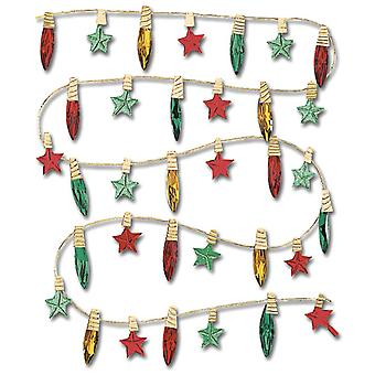 Jolee's Boutique Dimensional Stickers Christmas Lights Spjb 040
