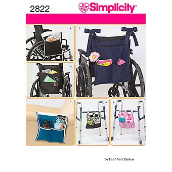 Simplicity Accessories For Wheelchair An One Size U02822os