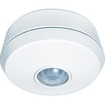 Surface-mount, Ceiling, Recess-mount, Flush mount PIR motion detector GEV 018709 360 ° Relay White IP20